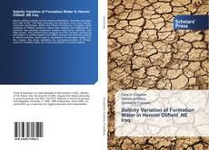 Bookcover of Salinity Variation of Formation Water in Hemrin Oilfield ,NE Iraq