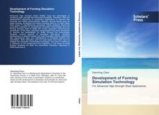 Bookcover of Development of Forming Simulation Technology
