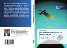 Rain Attenuation Modeling for Southern Africa kitap kapağı