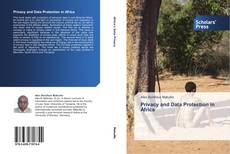 Bookcover of Privacy and Data Protection in Africa
