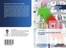 Bookcover of Exchange rate of India and its Volatility