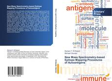 Capa do livro de New Mass Spectrometry-based Epitope Mapping Procedures of Autoantigens