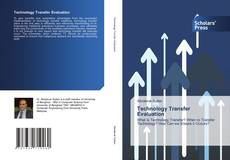 Capa do livro de Technology Transfer Evaluation