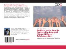 Bookcover of Análisis de la Ley de Protección Integral Niños, Niñas y Adolescentes