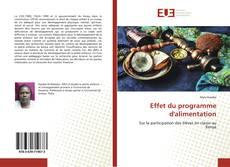 Copertina di Effet du programme d'alimentation