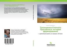 Обложка Топонимика Степного Притоболья: история формирования