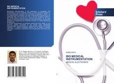 Обложка BIO MEDICAL INSTRUMENTATION