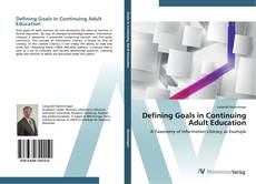 Borítókép a  Defining Goals in Continuing Adult Education - hoz