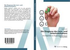 Die Diagnose des Lern- und Arbeitsverhaltens kitap kapağı