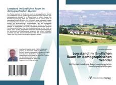 Buchcover von Leerstand im ländlichen Raum im demographischen Wandel
