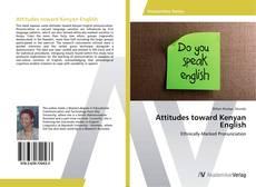 Buchcover von Attitudes toward Kenyan English