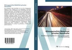 Buchcover von Klimagerechte Mobilität privater Haushalte