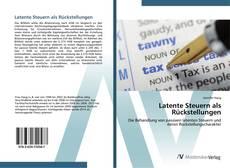 Bookcover of Latente Steuern als Rückstellungen