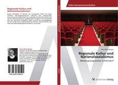 Bookcover of Regionale Kultur und Nationalsozialismus