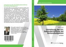 Buchcover von Umsetzung der EU-Gebäuderichtlinie bei Bestandsobjekten