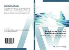 Bookcover of Emotionaler Wert von Familienunternehmen