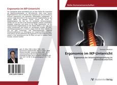Portada del libro de Ergonomie im IKP-Unterricht