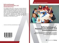 Capa do livro de Reformpädagogik, Neurowissenschaften und Konstruktivismus