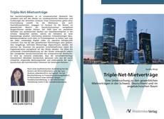 Bookcover of Triple-Net-Mietverträge