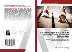 Portada del libro de Veränderungen der Geh- und Leistungsfähigkeiten nach Schlaganfall