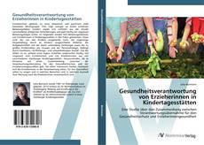 Buchcover von Gesundheitsverantwortung von Erzieherinnen in Kindertagesstätten