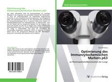 Bookcover of Optimierung des Immunzytochemischen Markers p63