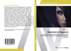 Portada del libro de Apostasie in Ägypten