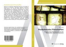 Postkoloniales Filmschaffen kitap kapağı