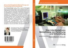 Buchcover von Eine interdisziplinäre Betrachtung von Forschung und Entwicklung