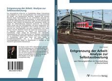 Bookcover of Entgrenzung der Arbeit: Analyse zur Selbstausbeutung