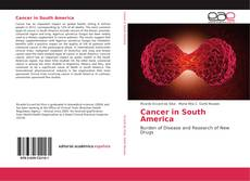Bookcover of Cancer in South America