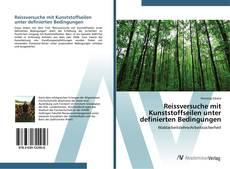 Buchcover von Reissversuche mit Kunststoffseilen unter definierten Bedingungen
