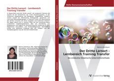 Buchcover von Der Dritte Lernort - Lernbereich Training Transfer