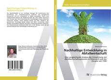 Bookcover of Nachhaltige Entwicklung in Abfallwirtschaft