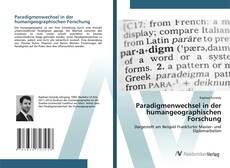 Copertina di Paradigmenwechsel in der humangeographischen Forschung