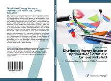 Distributed Energy Resource Optimization Potentials: Campus Pinkafeld kitap kapağı