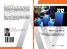 Couverture de Monetary Policy