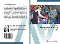 Bookcover of Barrierefreie Planung