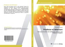 Bookcover of Prodesse et delectare