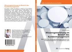 Couverture de Wissensgenerierung im Bereich des Kundenmanagement