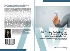 Bookcover of Big Five zur Reduktion von Gefahren für die Informationssicherheit