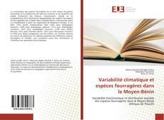 Bookcover of Variabilité climatique et espèces fourragères dans le Moyen-Bénin
