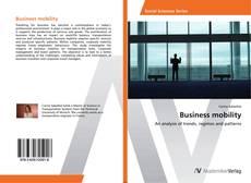 Capa do livro de Business mobility