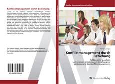 Konfliktmanagement durch Beziehung kitap kapağı