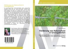Обложка Förderung von Naturschutz in Grenzgebieten