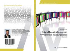 Entwicklung im Fernsehen kitap kapağı