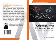 Bookcover of Erfolgsfaktoren bei der Implementierung von E-Government-Lösungen
