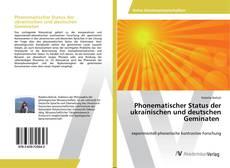 Buchcover von Phonematischer Status der ukrainischen und deutschen Geminaten