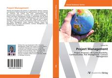 Capa do livro de Project Management