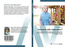 Buchcover von Inklusion oder Separation?